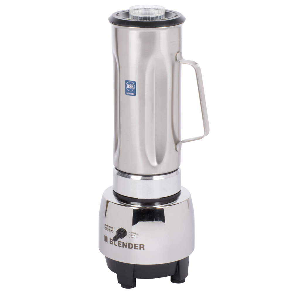 950177 waring hgbss half gallon blender with stainless steel jar  at edmiracle.co