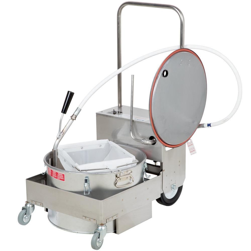 miroil fryer filter machine