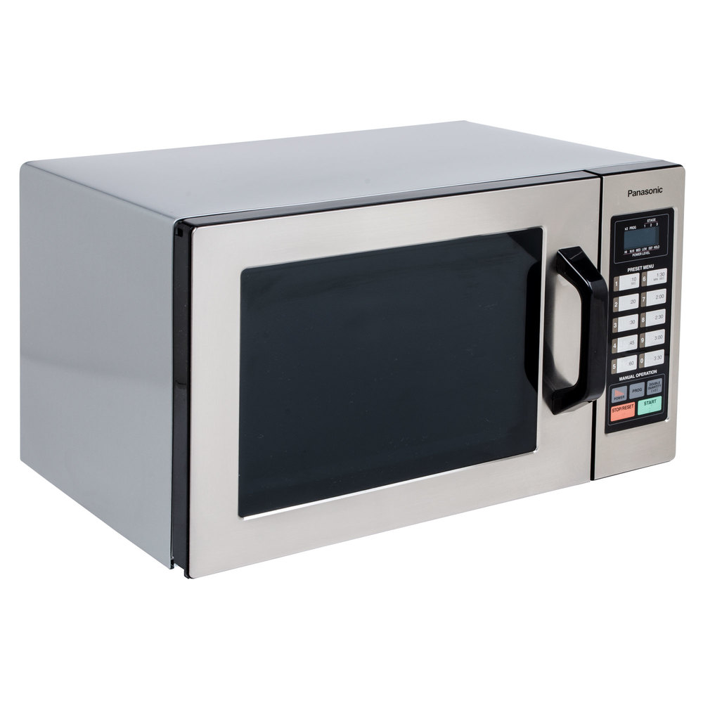18 Inch Microwave Oven: Panasonic NE-1054F Stainless Steel Commercial Microwave