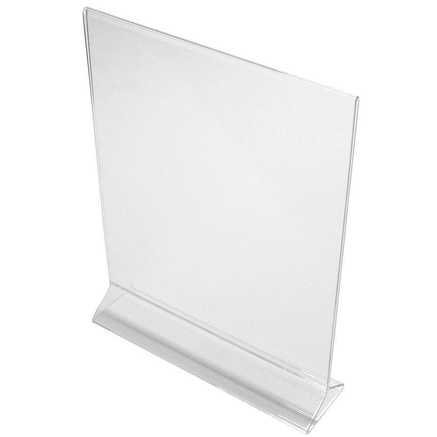 8 1/2 inch x 11 inch Clear Acrylic Tabletop Displayette ...  sc 1 st  WebstaurantStore & Plastic Table Tents - WebstaurantStore