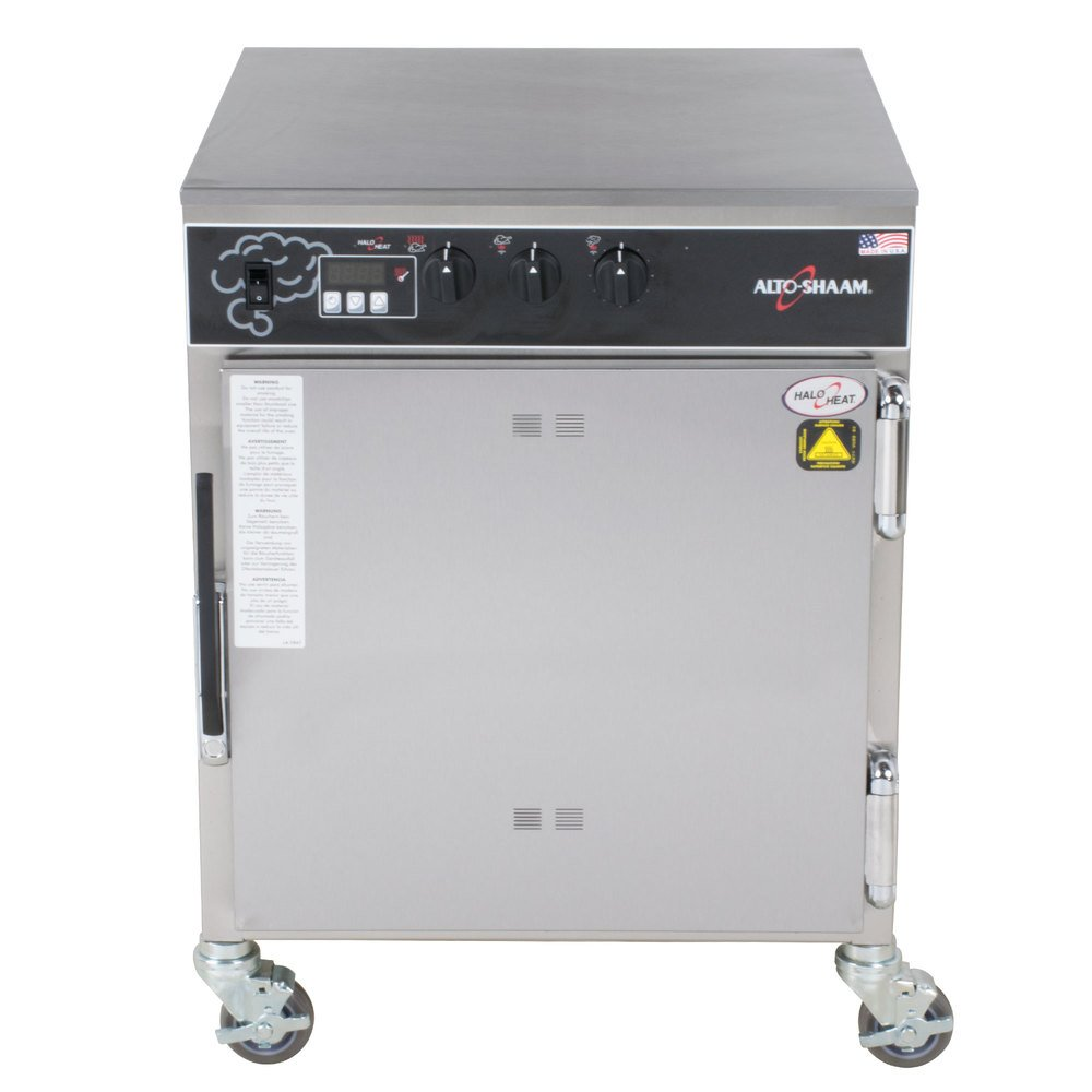 Alto-Shaam 767-SK undercounter cook and hold smoker oven with simple controls