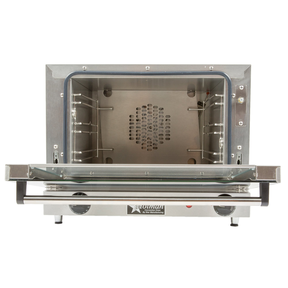 Star CCOQ-3 Electric Countertop Quarter Size Convection Oven 120V