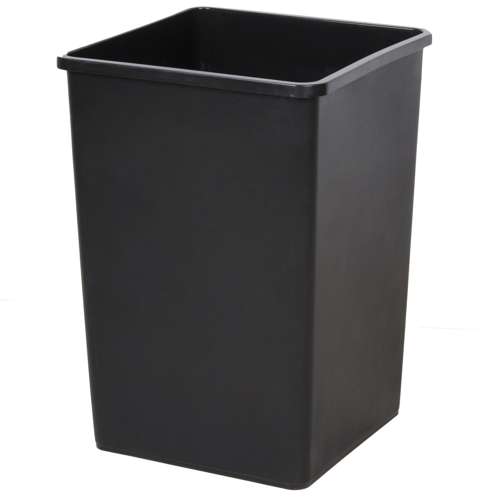 Black Kitchen Wastebaskets