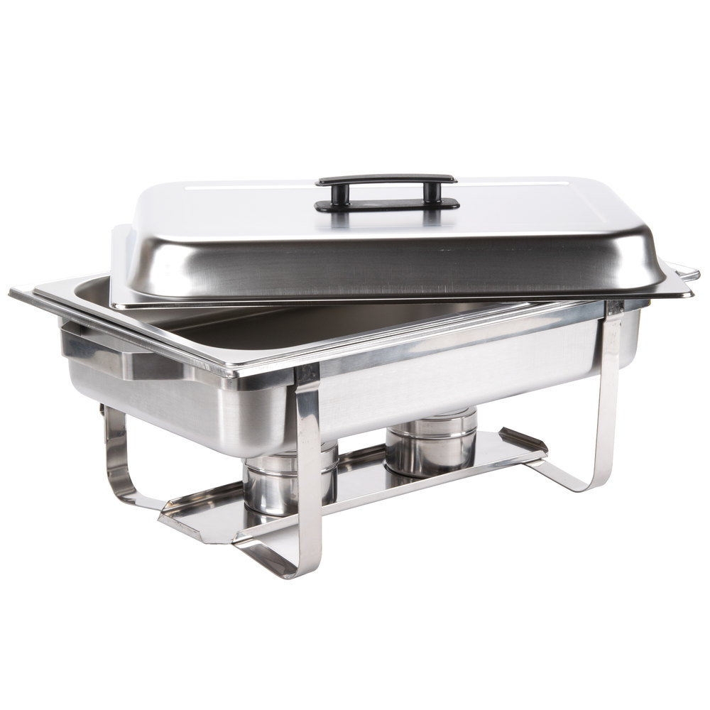 ... Image Preview ... - Chafing Dish 8 Qt. Economy Stainless Steel Chafer