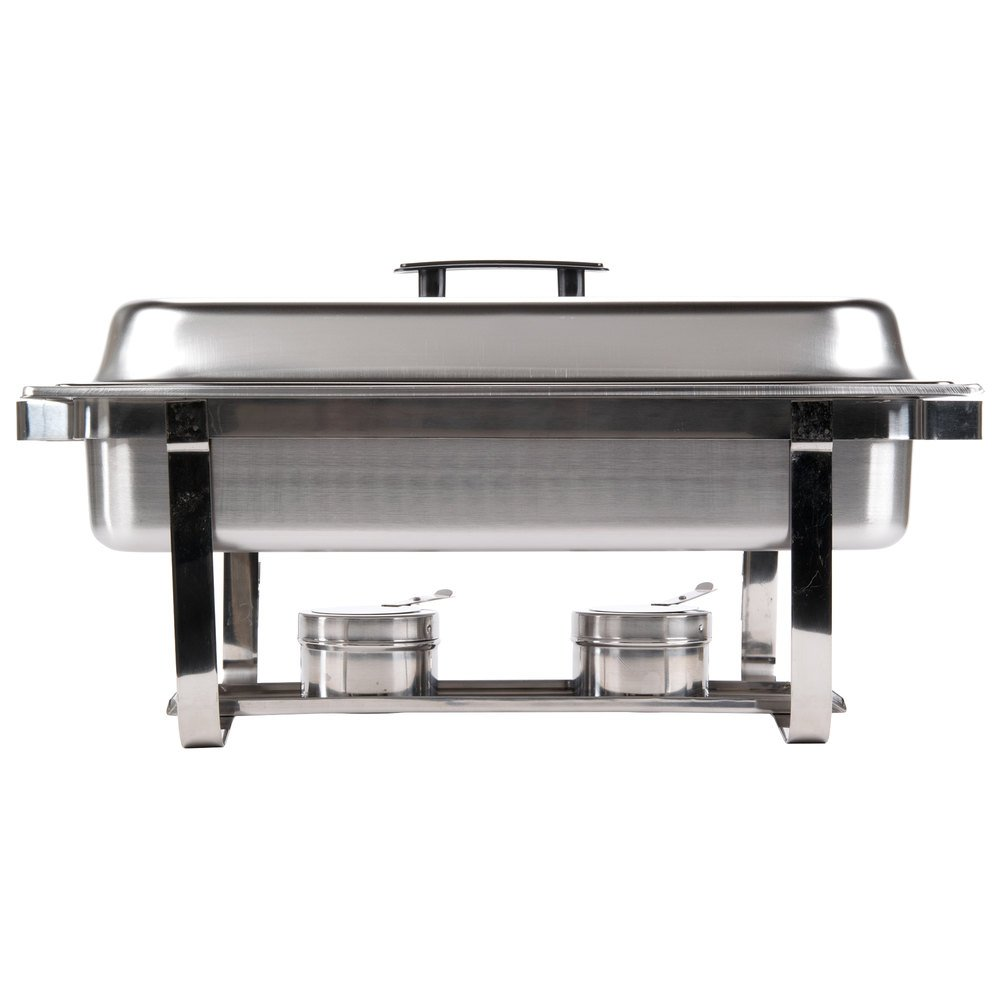 Chafing Dish 8 Qt Economy Stainless Steel Chafer