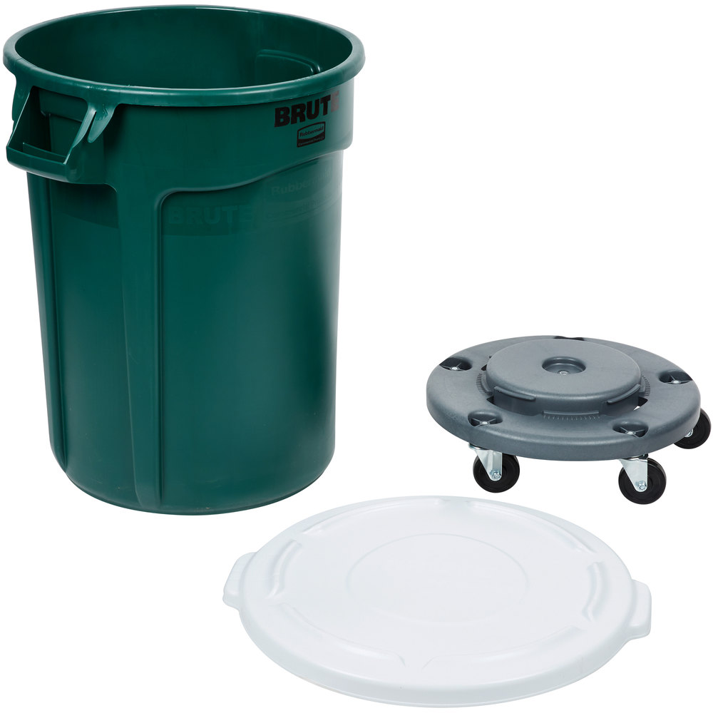 can with wheels trash cans in stock uline