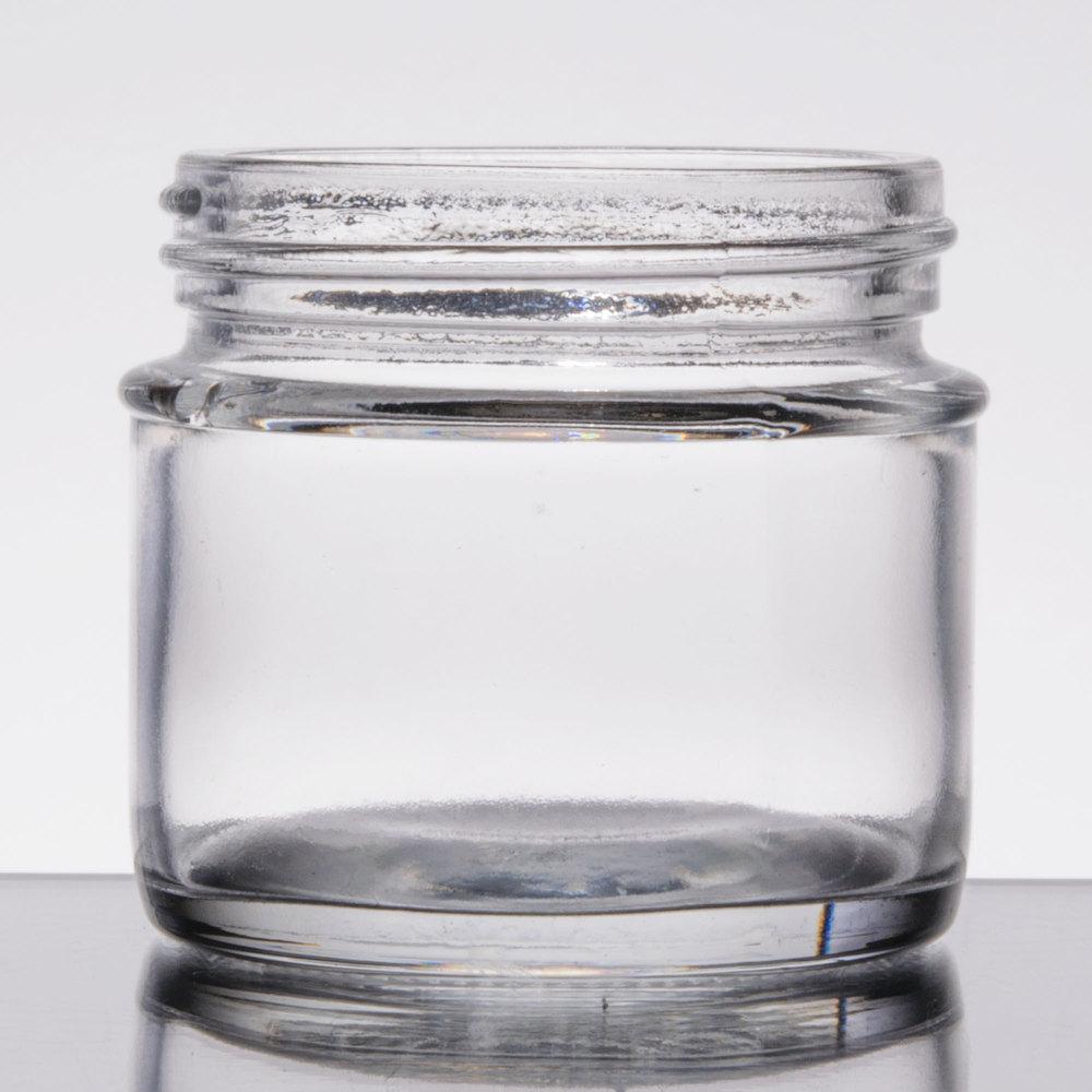 tablecraft gj3 3 oz glass tasting jar sauce cup. Black Bedroom Furniture Sets. Home Design Ideas