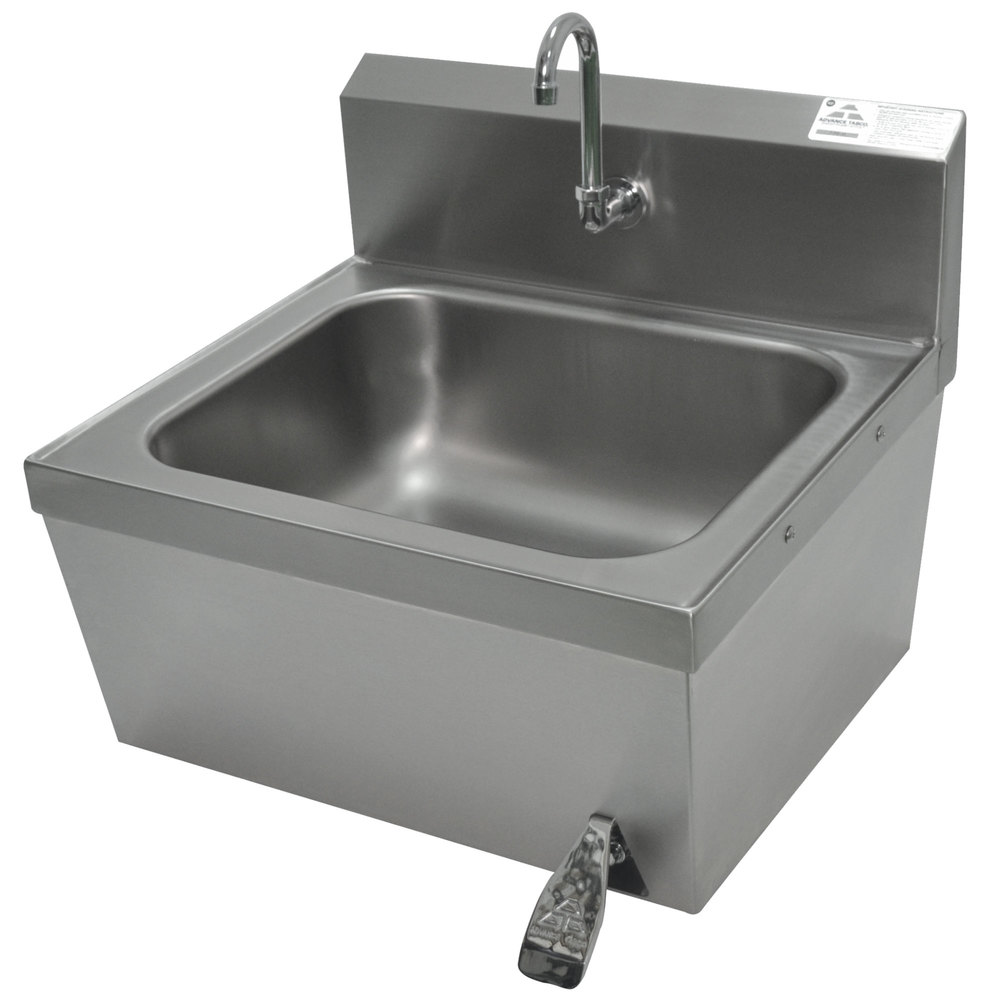 Advance Tabco 7 Ps 78 Hands Free Hand Sink With Knee