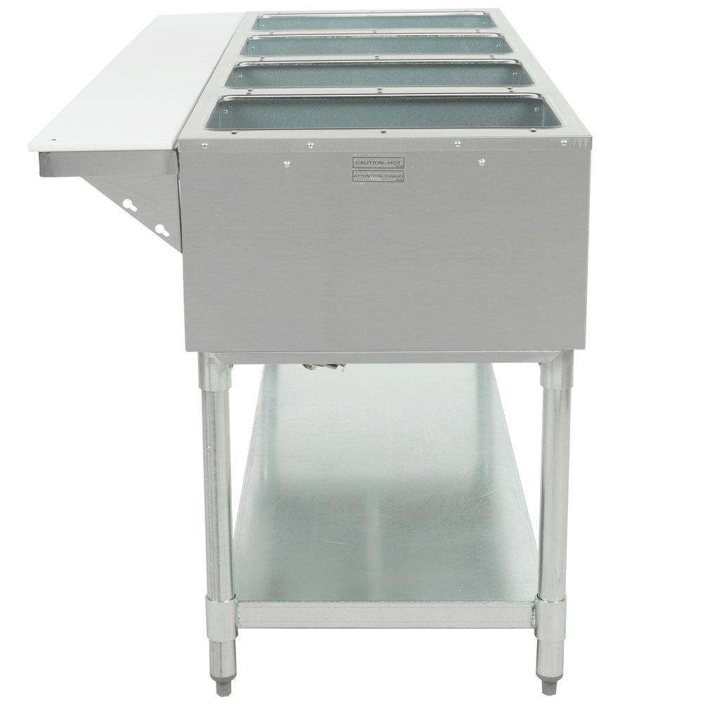 Eagle Group Ht4 Liquid Propane Steam Table Four Pan 14 000