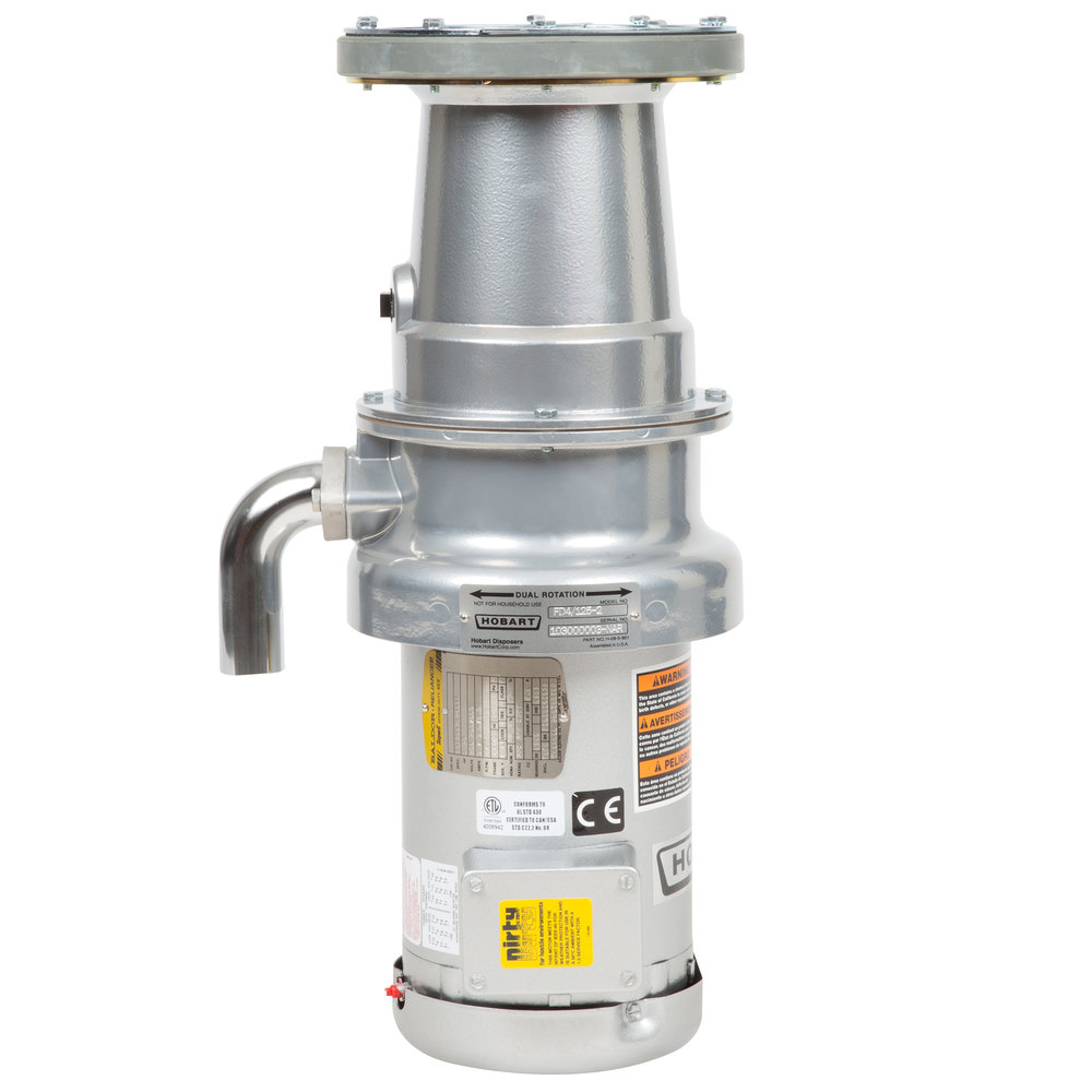 836354 hobart fd4 125 2 commercial garbage disposer with long upper hobart waste disposal wiring diagram at nearapp.co