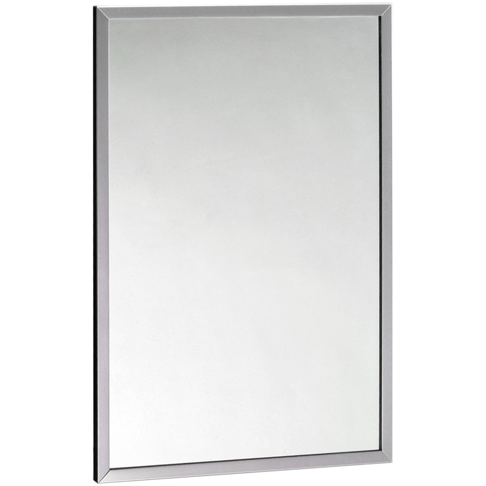 Bobrick B 165 4836 48 Quot X 36 Quot Wall Mounted Mirror With