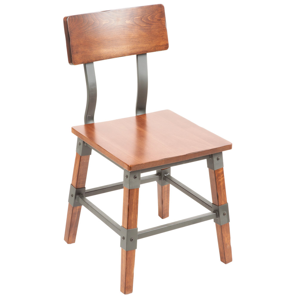 Lancaster Table Seating Rustic Industrial Dining Side Chair
