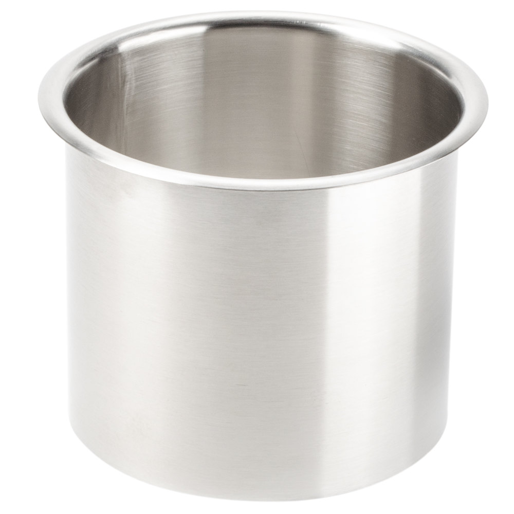 San Jamar L360c Stainless Steel Large In Counter Trash Chute