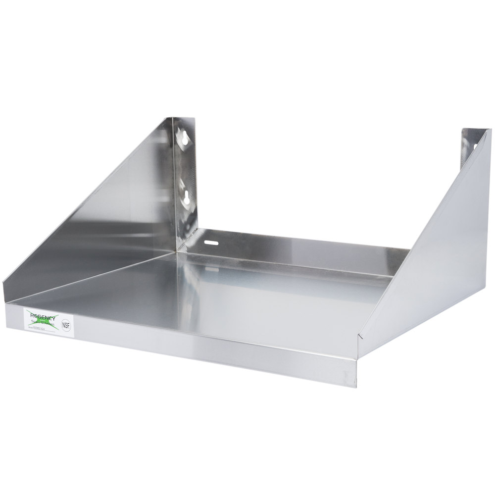 Design Stainless Steel Shelf regency 24 x 18 stainless steel microwave shelf main picture image preview preview
