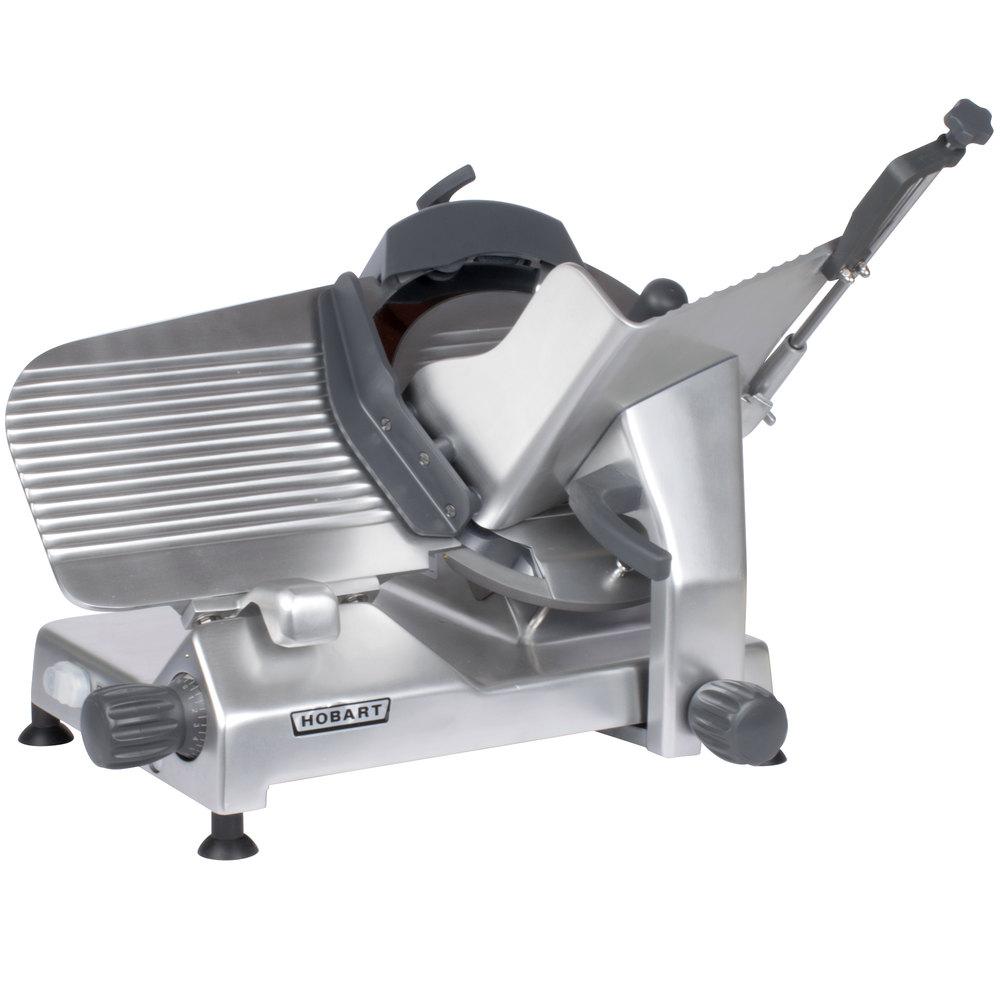 Hobart Slicer Parts Webstaurantstore Rack Oven Wiring Diagram 120 Volts Edge 13 Inch Manual Meat 1 2 Hp