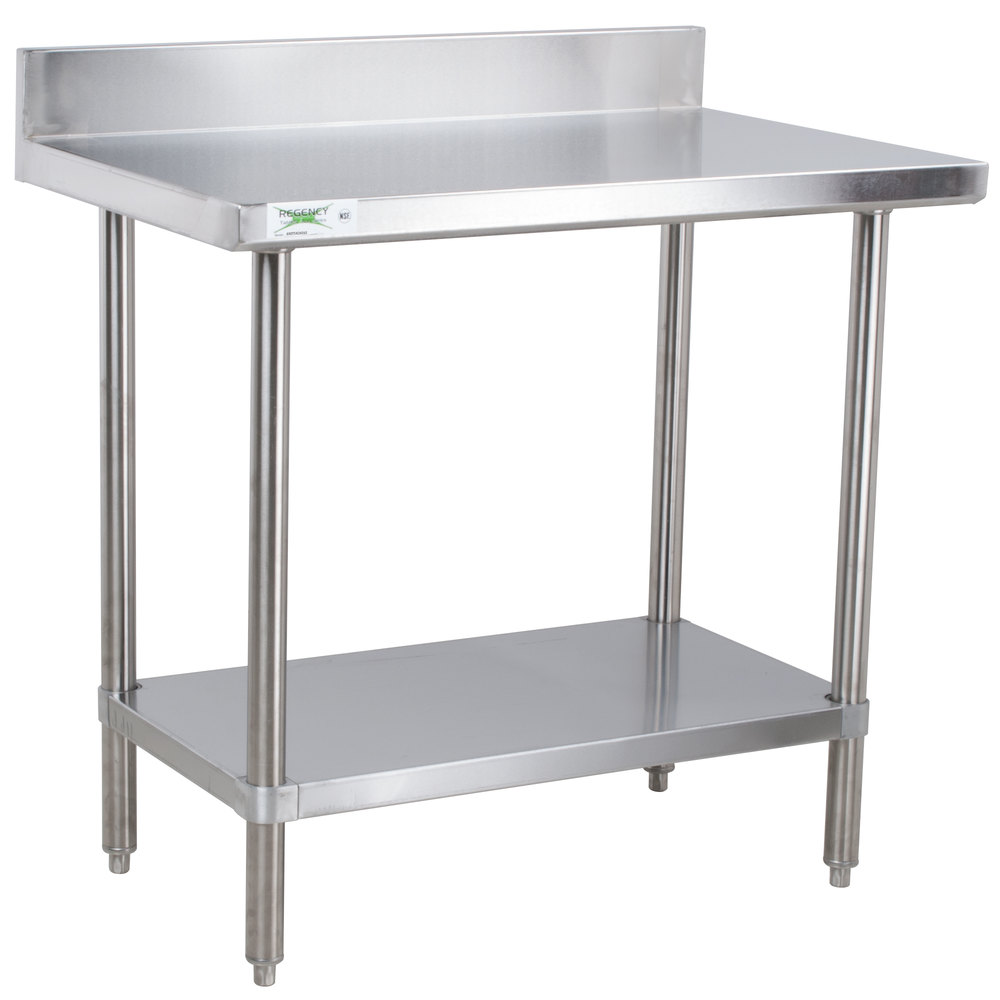 Stainless Steel Work Tables Food Prep Tables Stainless Steel Tables - Stainless steel work table with wheels