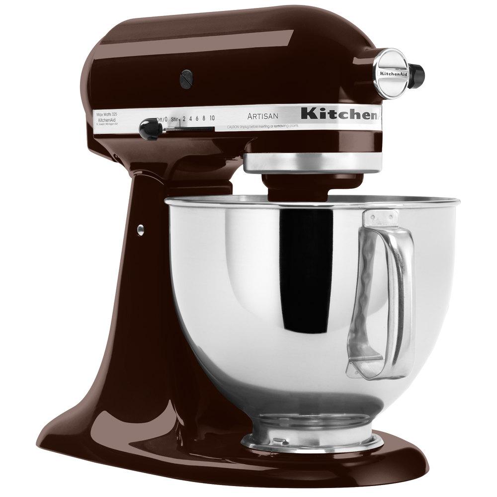 Countertop Mixer : KitchenAid KSM150PSES Espresso Artisan Series 5 Qt. Countertop Mixer