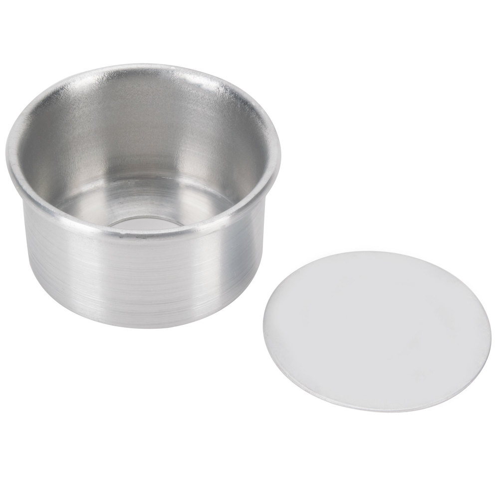 3 Quot X 2 Quot Aluminum Cake Pan With Removable Bottom