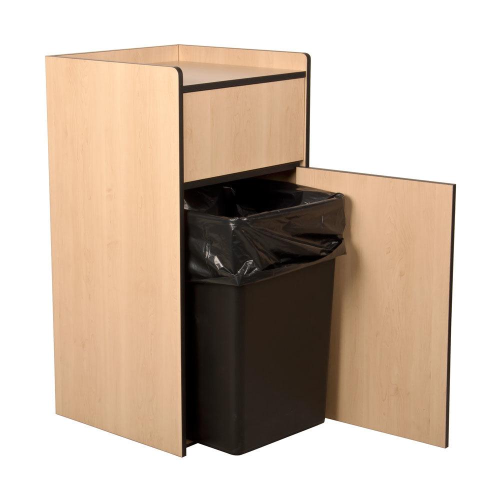 35 Gallon Waste Receptacle Enclosure With Tray Top
