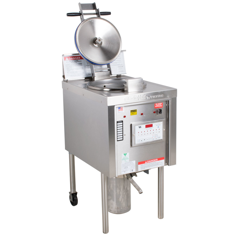 Electric Pressure Fryer ~ Winston industries lp collectramatic lb electric