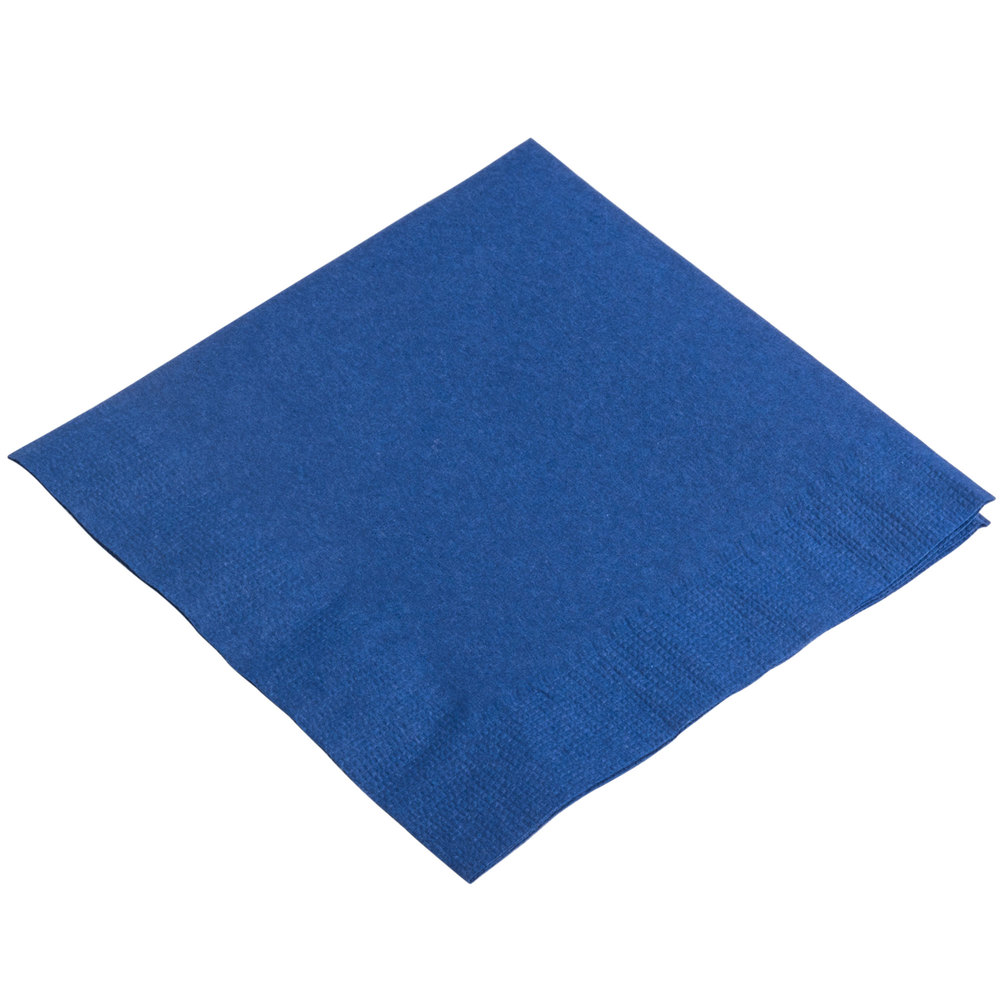 Choice 10 Quot X 10 Quot Navy Blue 2 Ply Beverage Cocktail