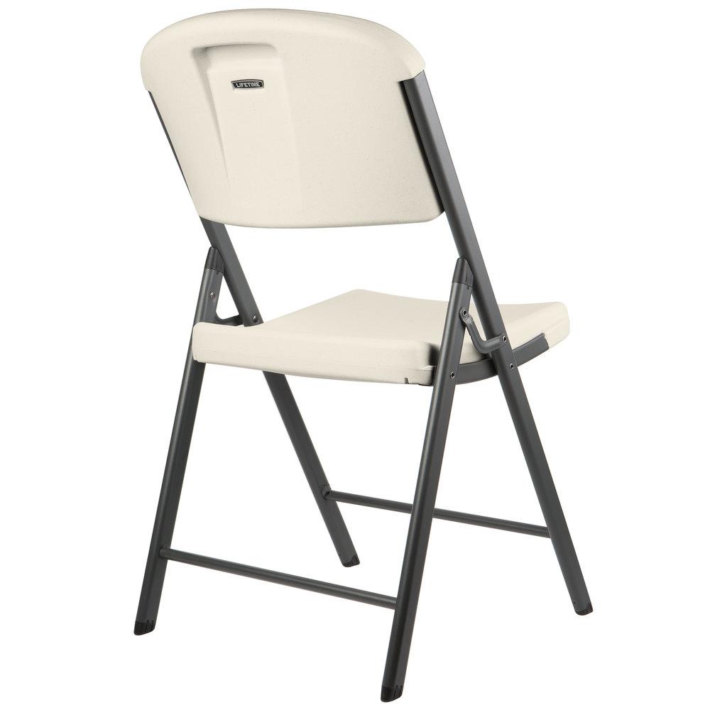 Lifetime 2803 almond contoured folding chair - Pizza rapid silla ...