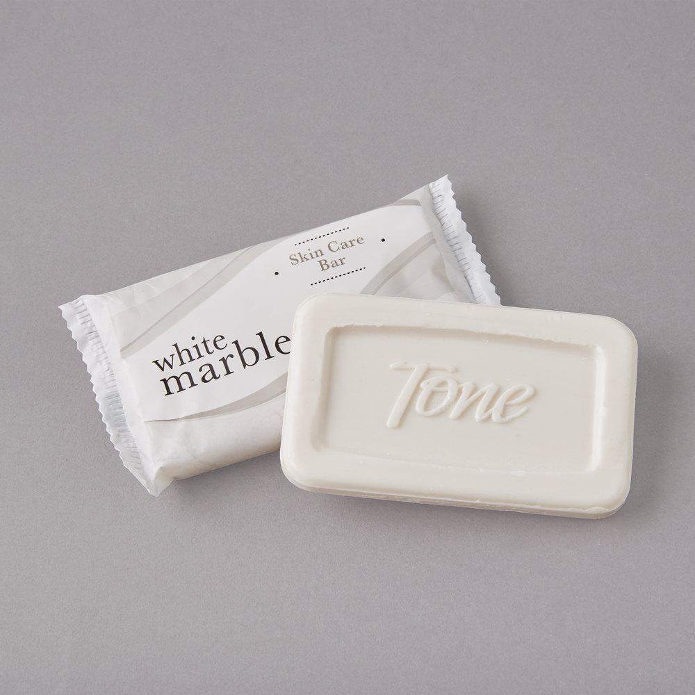Dial White Marble Tone Skin Care Soap 0 81 Oz 500 Case