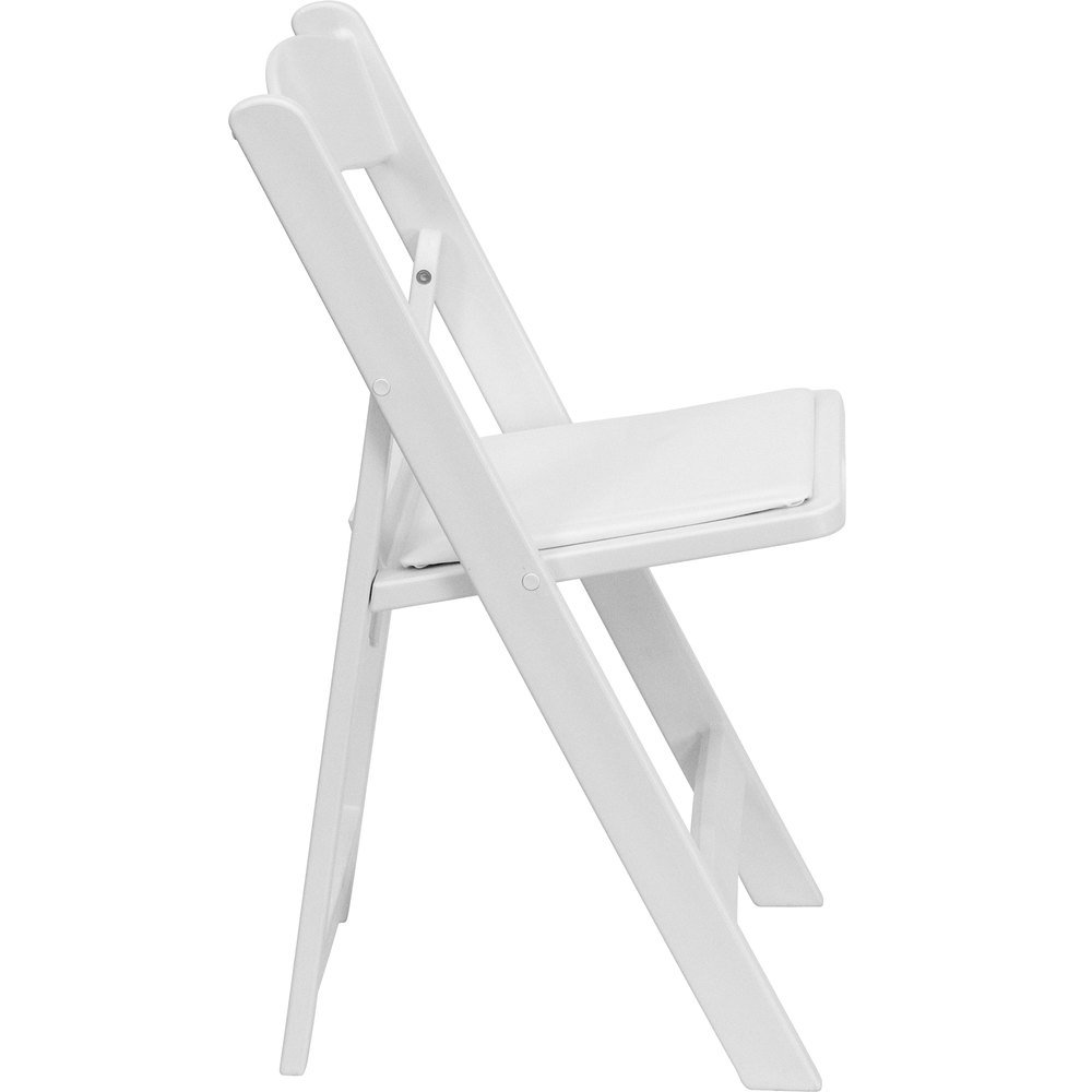 Main Picture  Image Preview. Flash Furniture LE L 1 WHITE GG White Plastic Folding Chair with