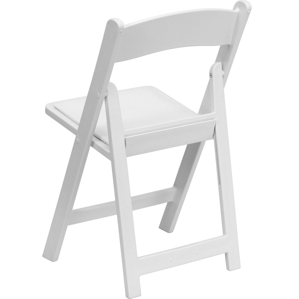 Folding Chairs Plastic flash furniture le-l-1-white-gg white plastic folding chair with