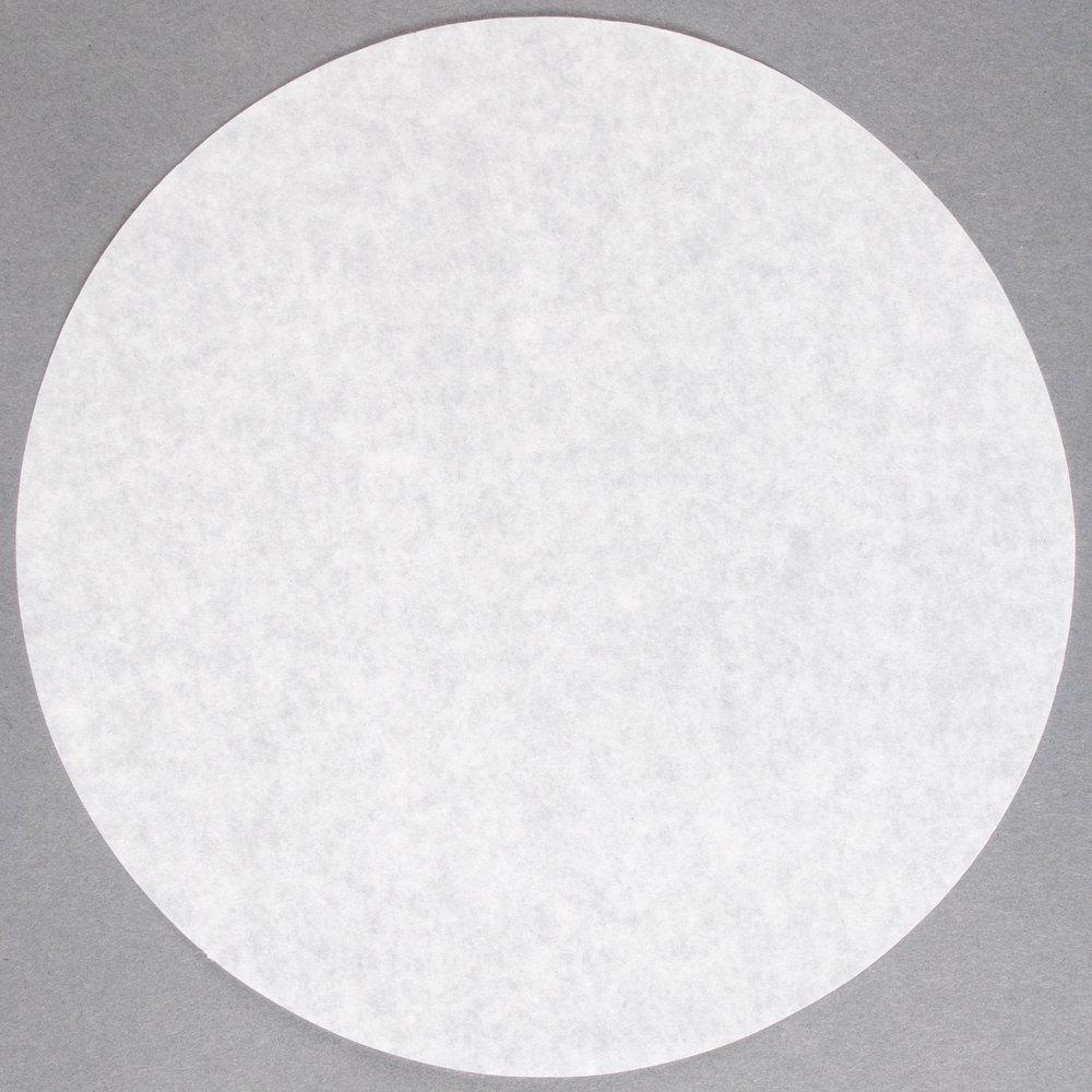 8 Quot Round Dry Wax Parchment Pan Liner 1000 Case