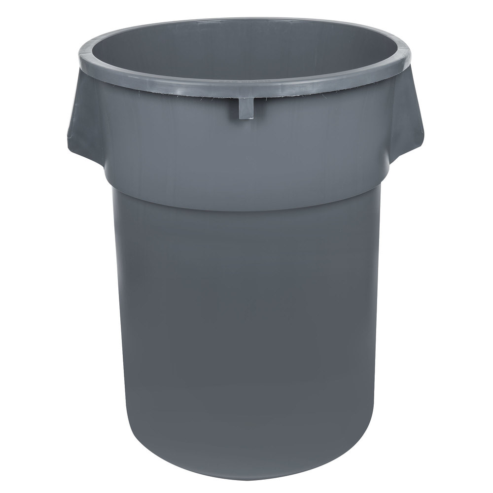 55 gallon gray trash can. Black Bedroom Furniture Sets. Home Design Ideas