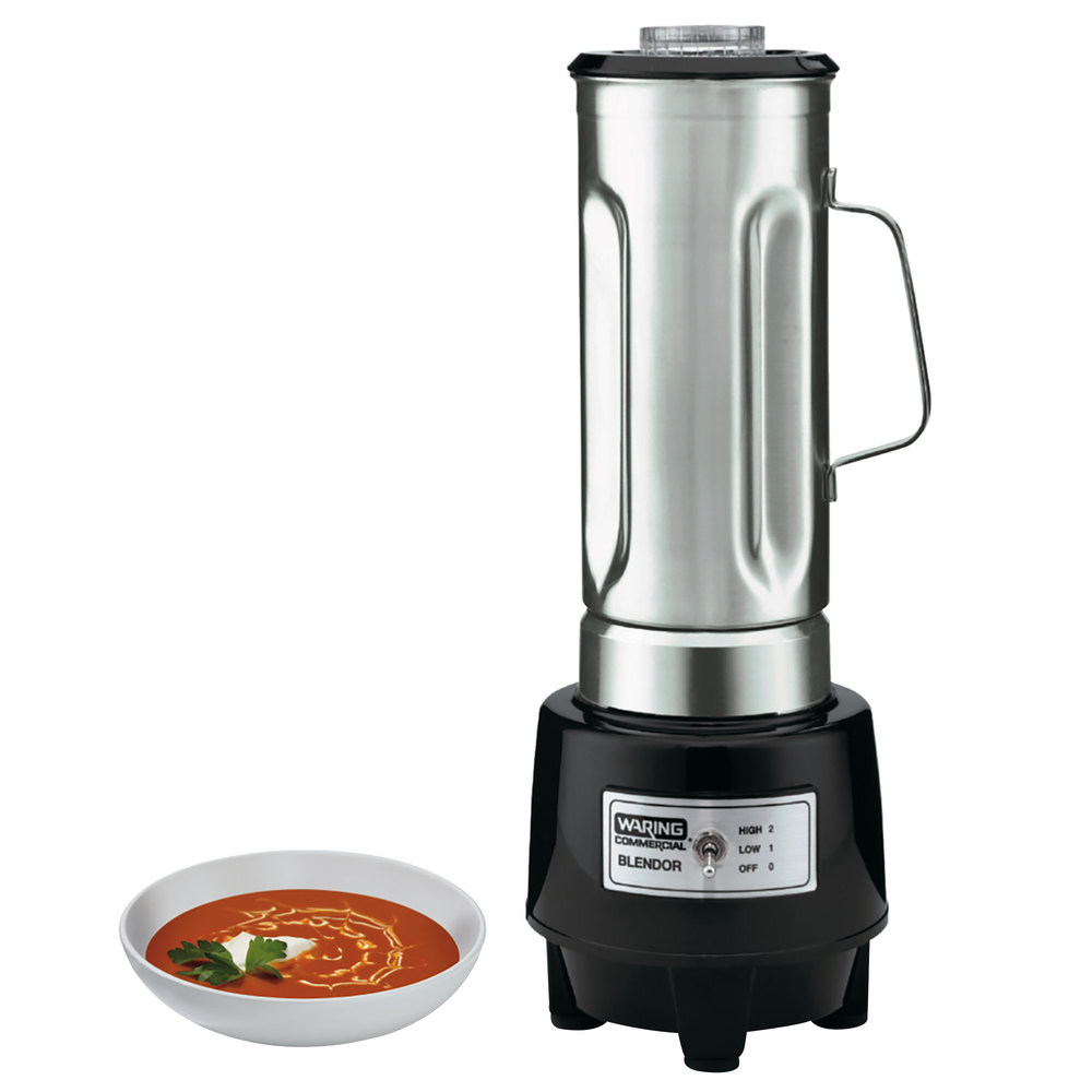 1145091 waring hgb150 1 hp commercial food blender with 64 oz stainless  at edmiracle.co