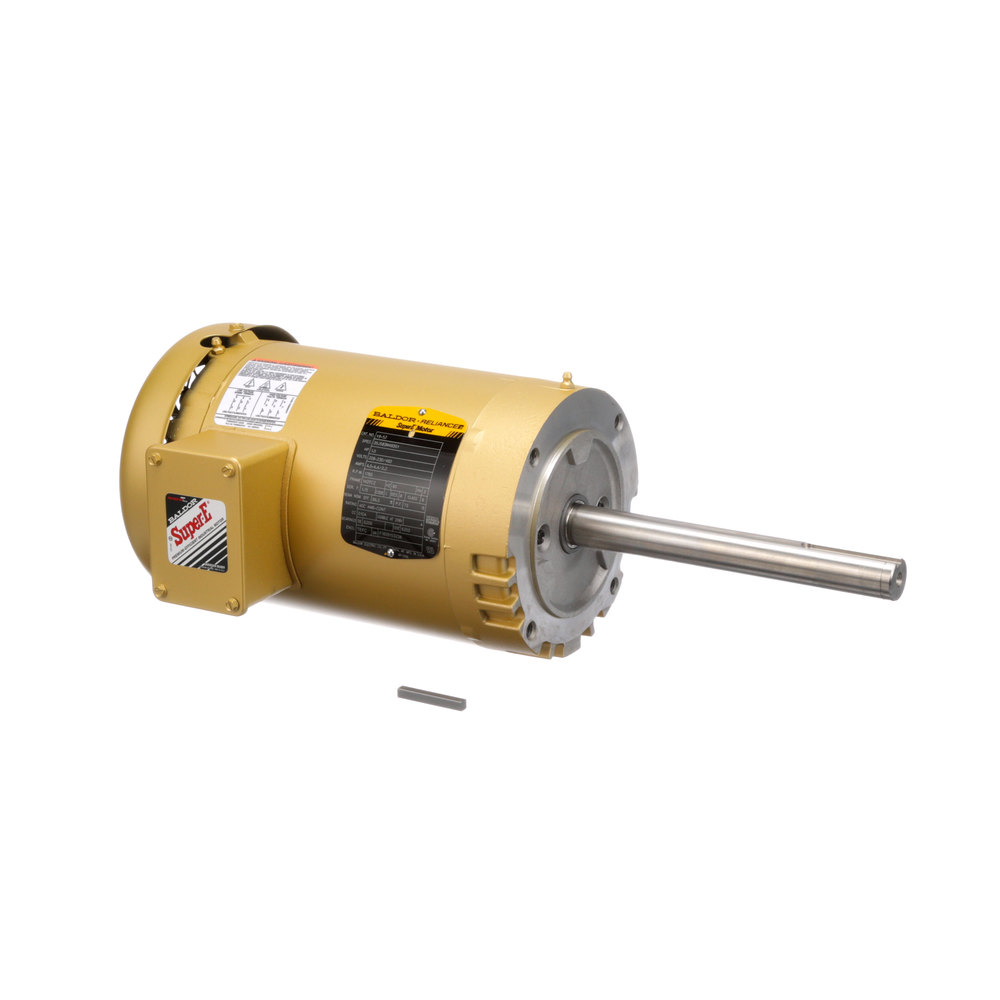 Baxter 01 1000v8 00052 Motor Blower 1 1 2 Hp