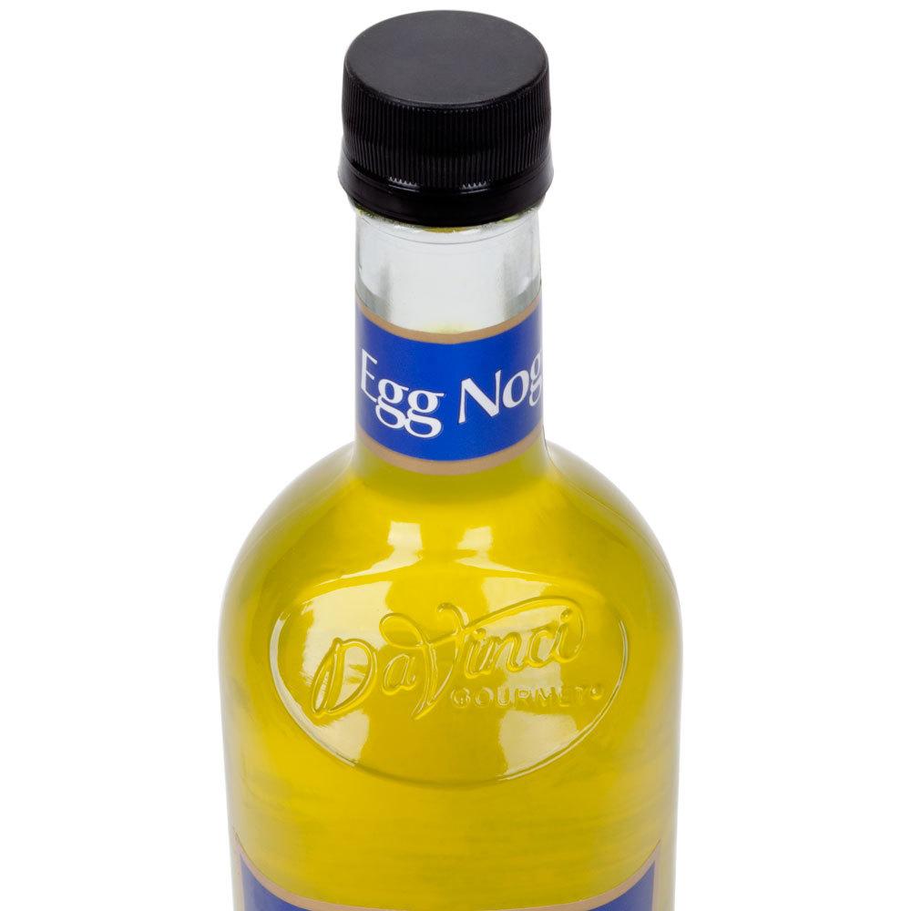 DaVinci Gourmet 750 mL Eggnog Sugar Free Coffee Flavoring Syrup