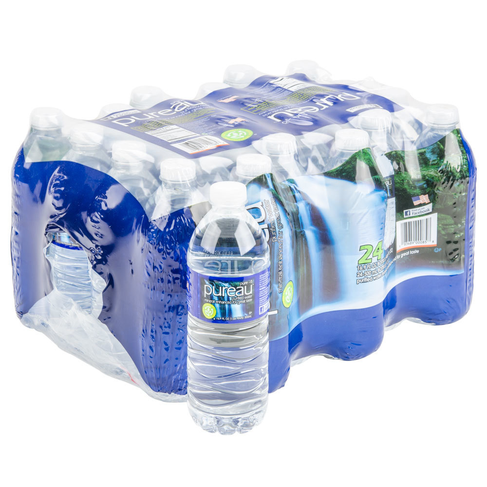 16 9 Oz Purified Bottled Water 24 Case