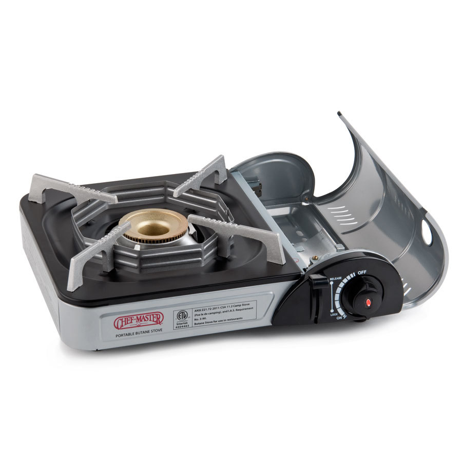 Countertop Stove Electric Igniter : Chef-Master 90011 1-Burner Butane Countertop Range - 9,925 BTU