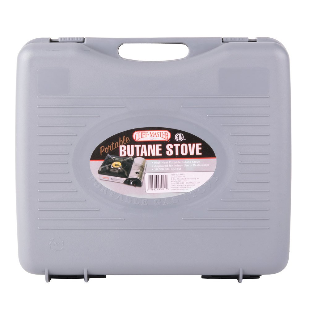 Countertop Butane Burner : Chef Master 90011 1-Burner Butane Countertop Range - 10,000 BTU