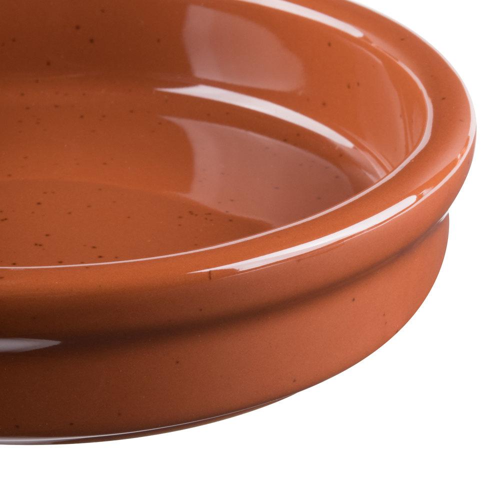 Syracuse China 922229901 Terracotta 6 Oz Cazuela Bowl