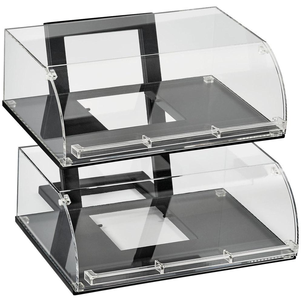 bin top acc acrylic fixtures a countertop store counter display bins b