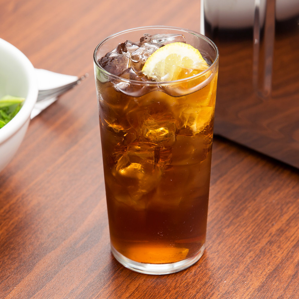 Libbey 551 Straig Sided 12.5 oz. Iced Tea Glass - 72/Case