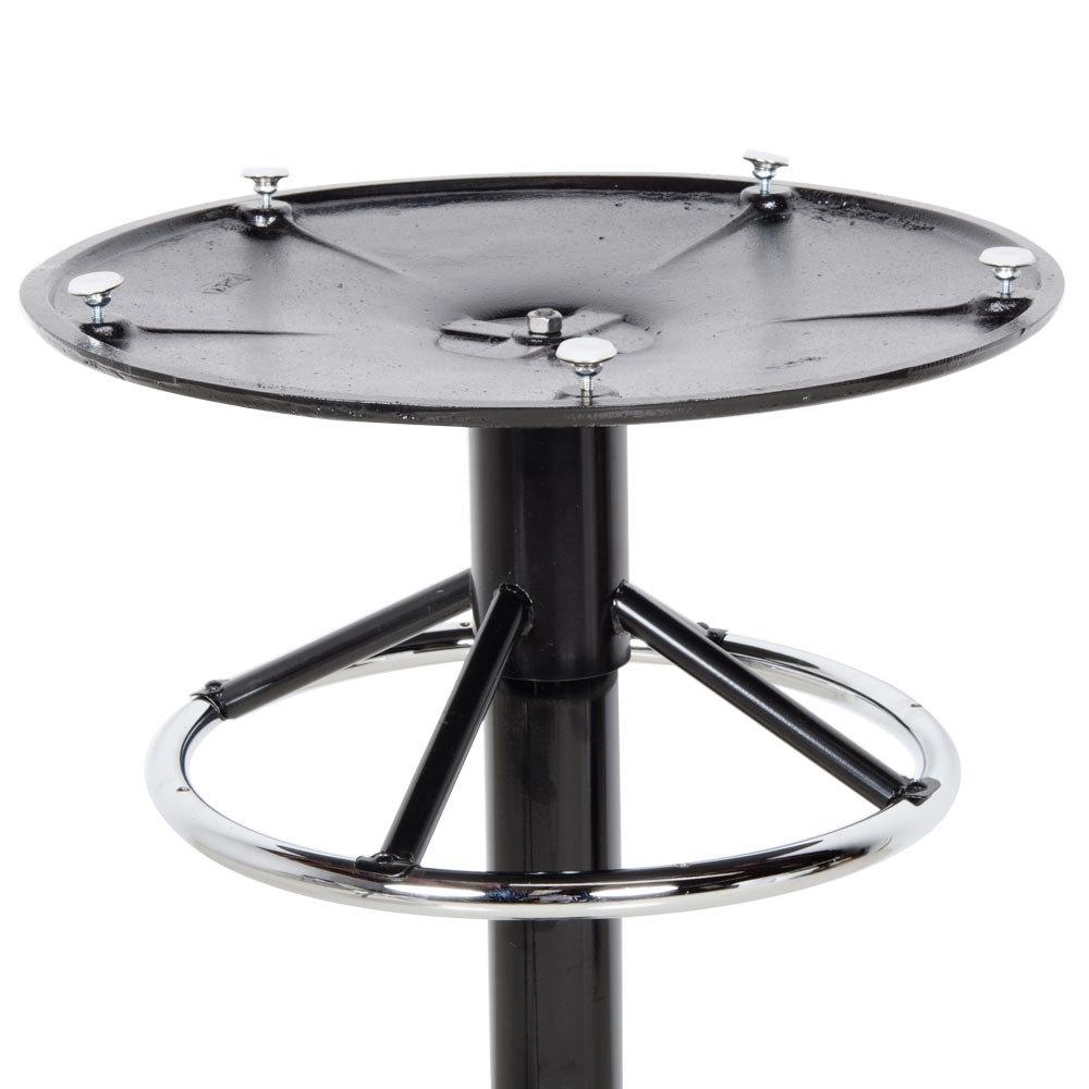 "Lancaster Table & Seating 22"" x 41"" Round Black Metal Table Base"