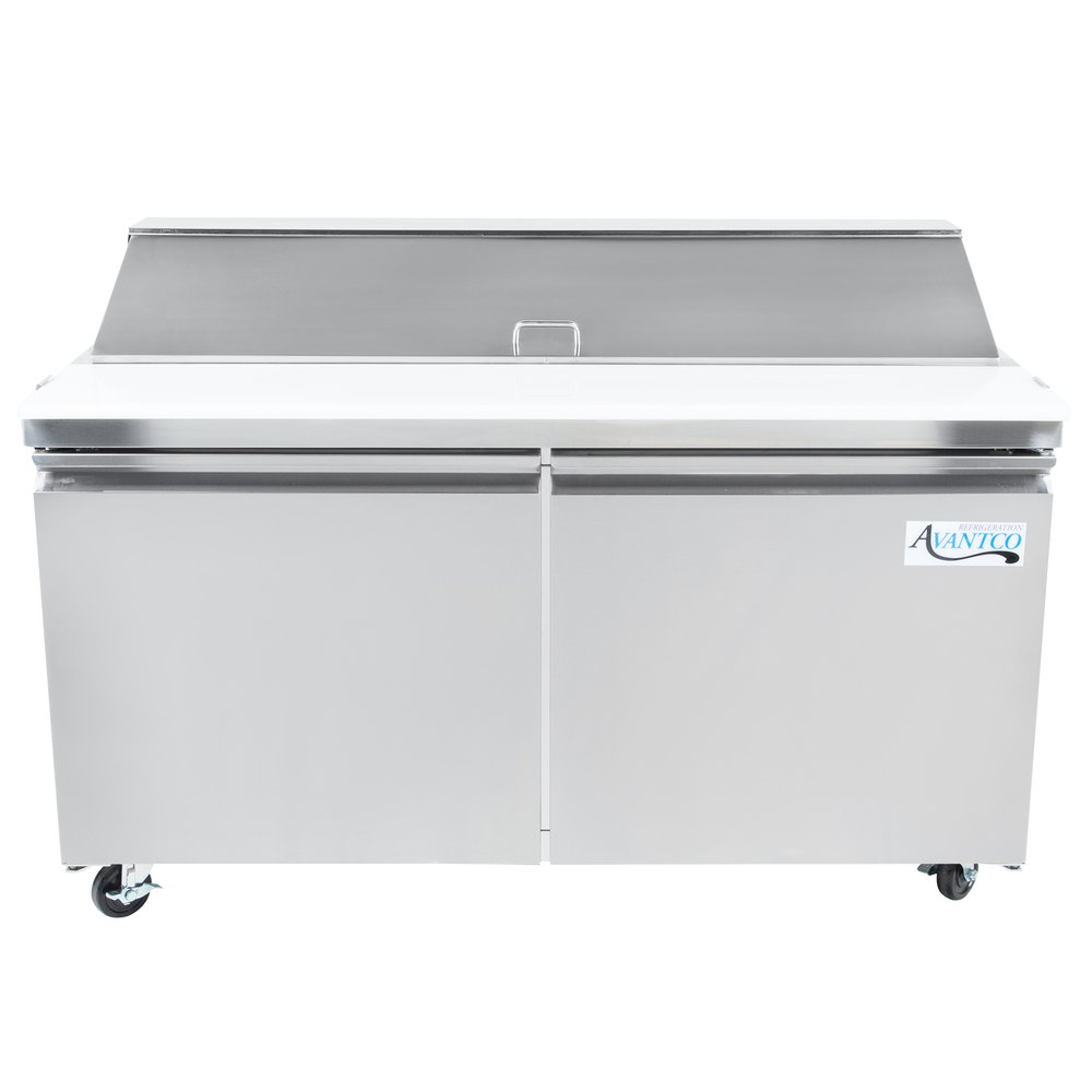 Sandwich Prep Tables Refrigerated Prep Tables - Cold sandwich prep table