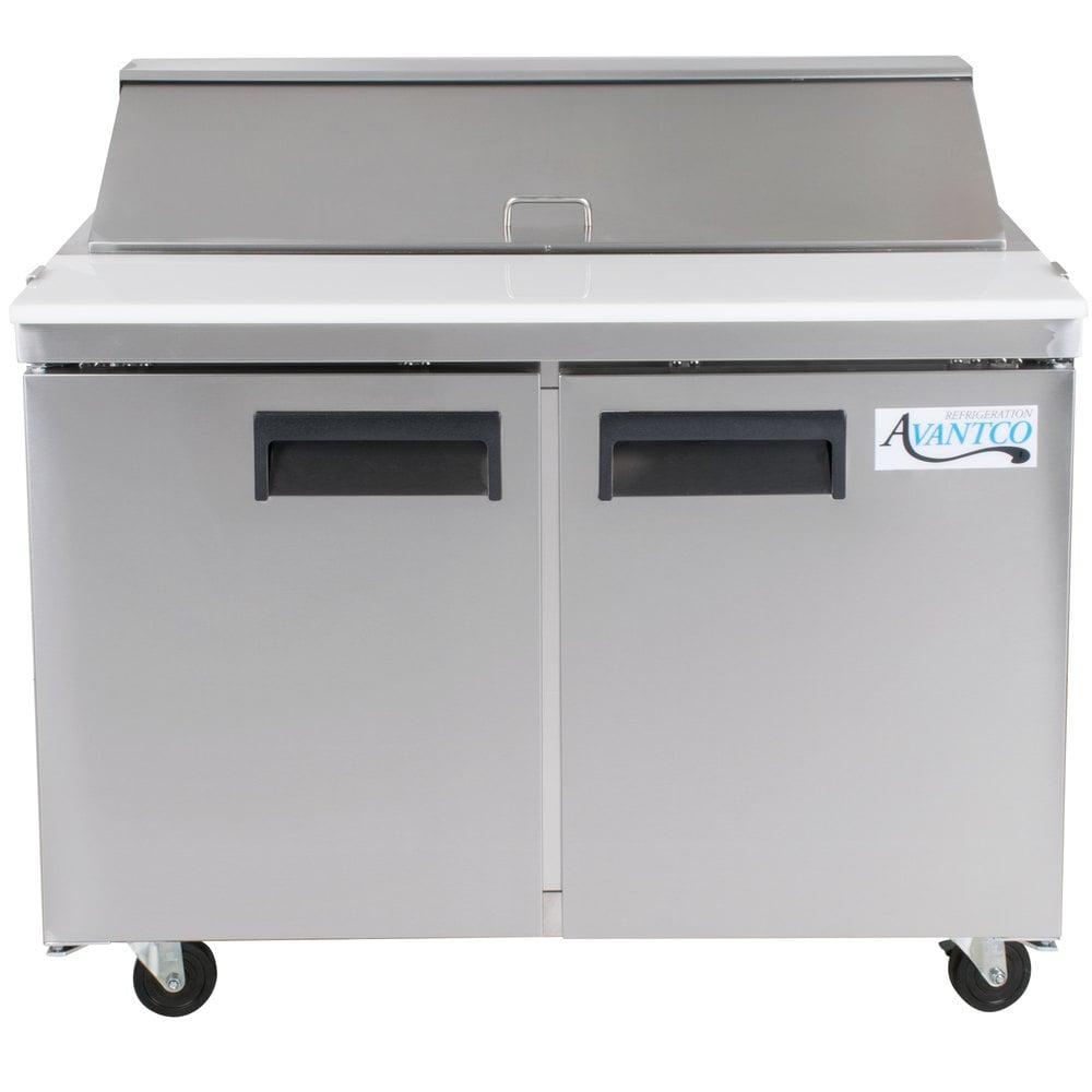 Groovy Avantco Apt 48 Hc 48 2 Door Refrigerated Sandwich Prep Home Remodeling Inspirations Genioncuboardxyz