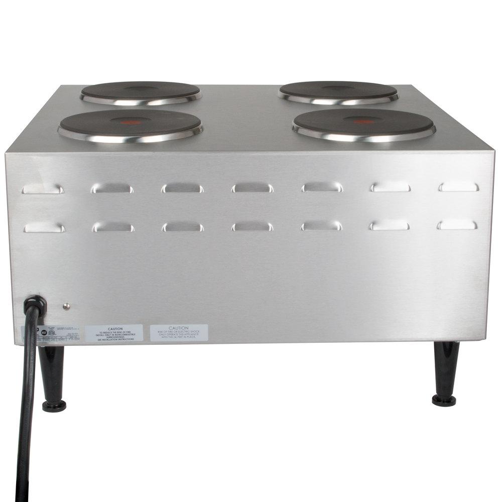 2 Burner Electric Cooktop Black Electric Stove Top High