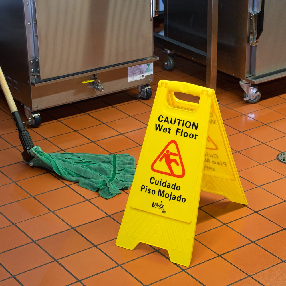 lavex janitorial 25 caution wet floor sign. Black Bedroom Furniture Sets. Home Design Ideas