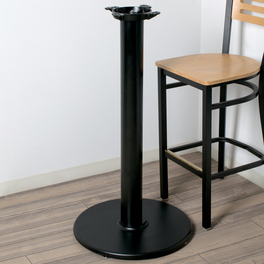 """Lancaster Table & Seating 37"""" x 4"""" Bar Height Table Base ..."""