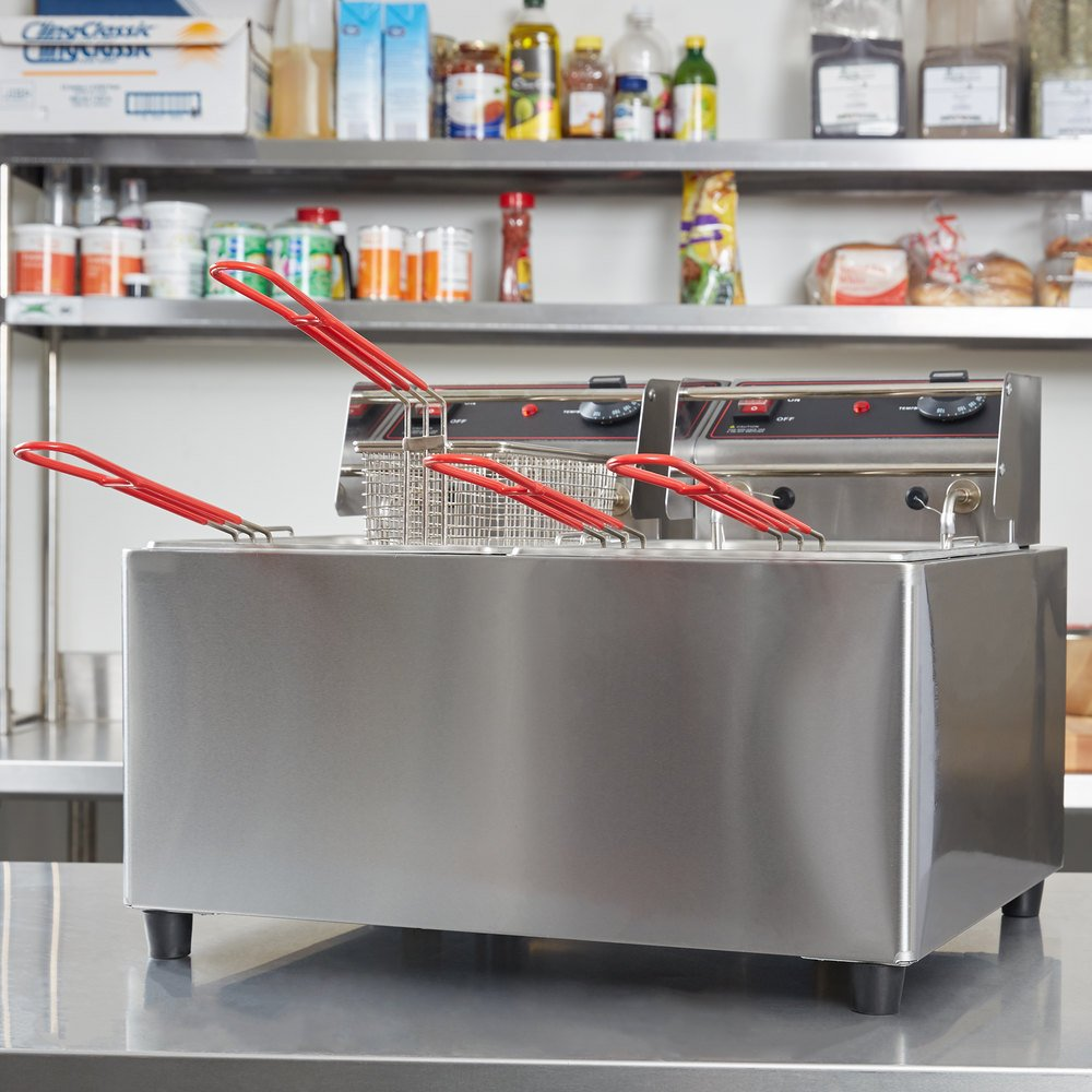 Cecilware EL2X15 Stainless Steel Electric Commercial
