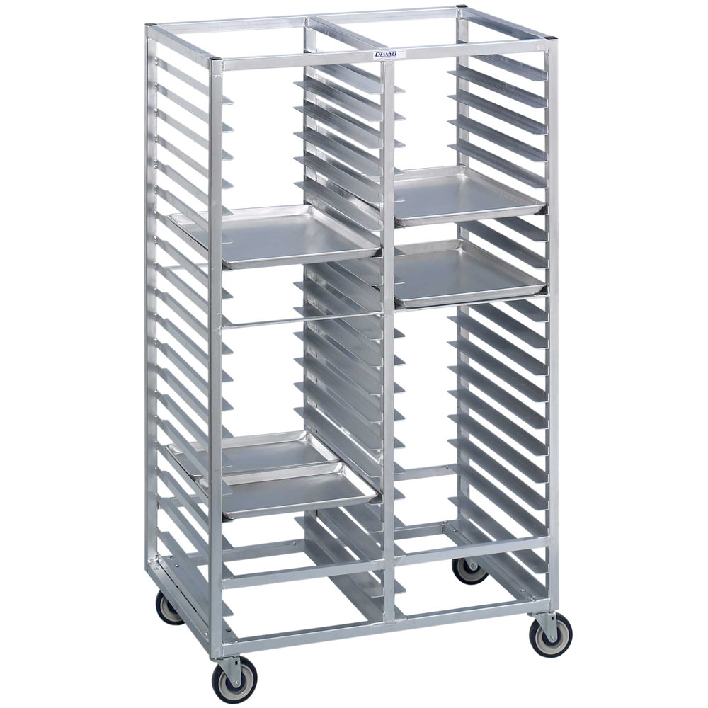Channel 468s 40 Tray Bottom Load Double Stainless Steel