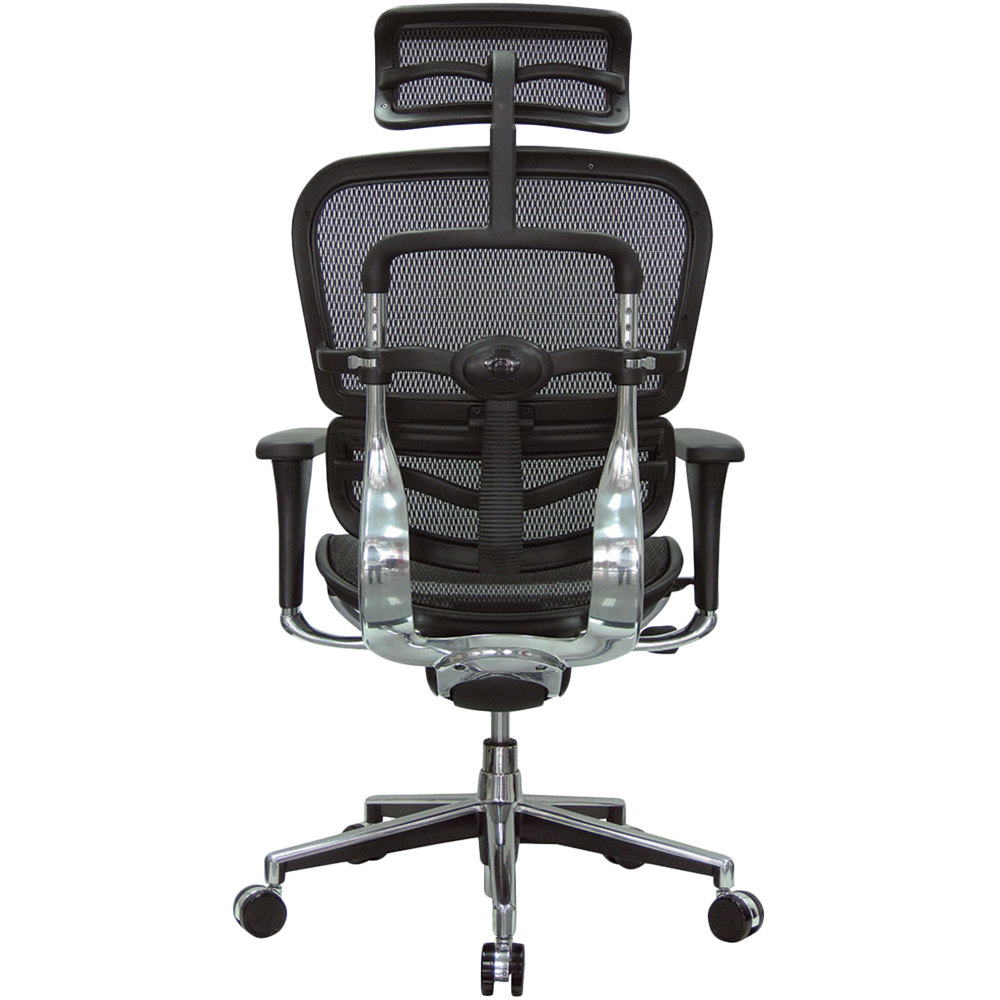 Eurotech Seating Me7erg W09 1 Ergohuman Black Mesh High