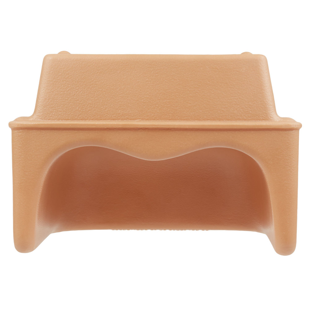 Cambro 100bc1157 Coffee Beige Plastic Single Height Booster Seat